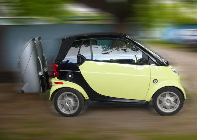 Smart Car Or Golf Cart Self Promotion Club Smart Car