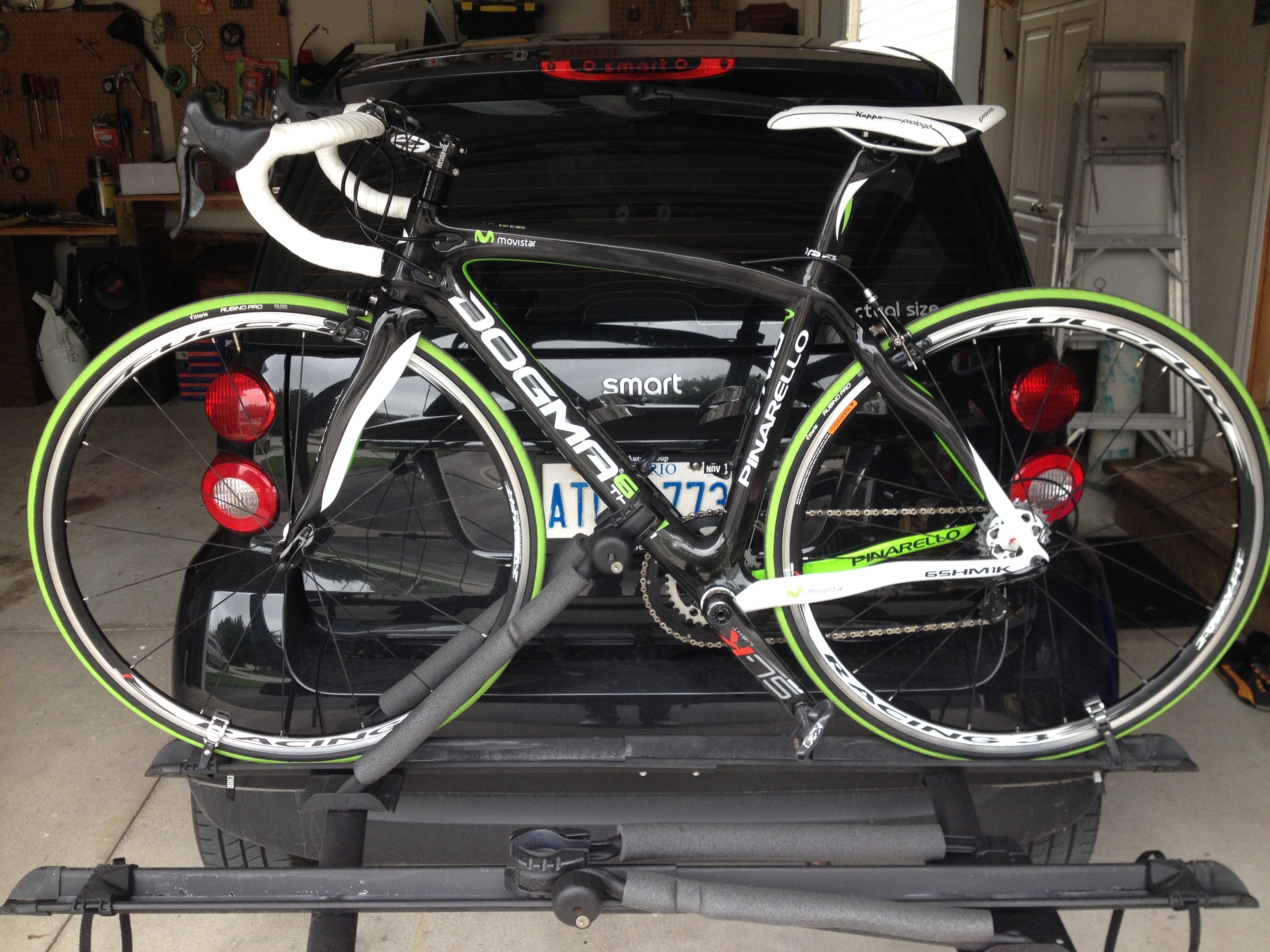 SOLD Smart Fortwo Bike Rack - Member Classifieds - Parts and ...