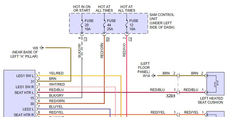 heated seat wiring and control - modifications and ... smart car 450 wiring diagram