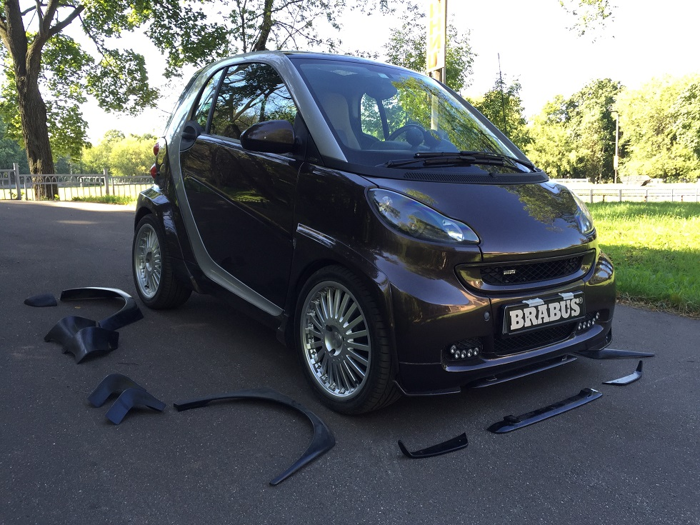 brabus ultimate wide body kit for 451 smart member classifieds parts and accessories club. Black Bedroom Furniture Sets. Home Design Ideas