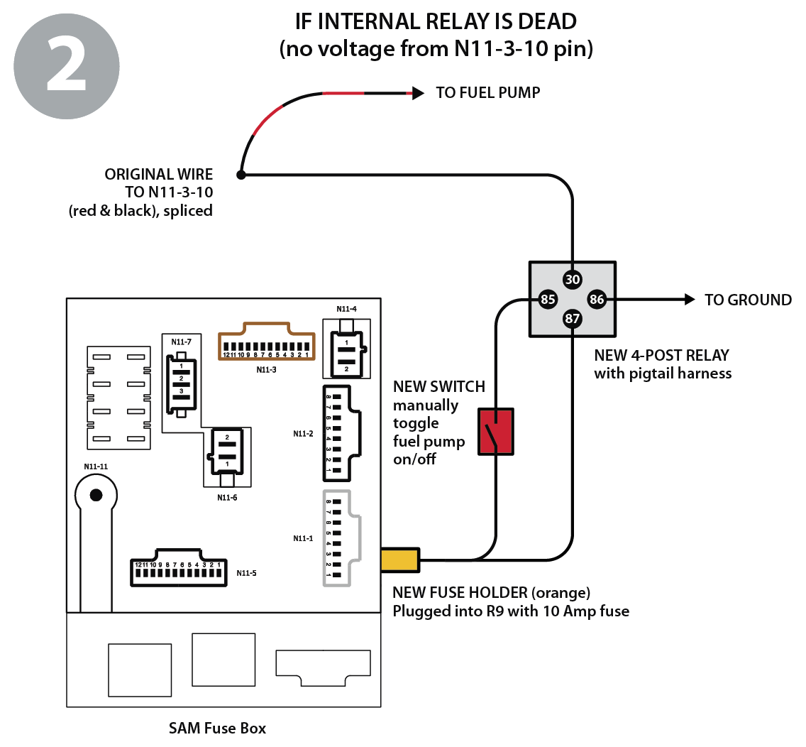 Relay Wiring Diagram 2009 Smart Car Great Installation Of 12 Volt Fuel Pump 2008 Fortwo Alarm Detailed Rh 7 6 Ocotillo Paysage Com Starter Led Light Switch With